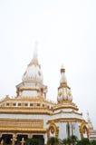 Pagoda blanche en Thaïlande Photos libres de droits