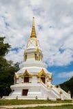 Pagoda blanche en Thaïlande Images stock