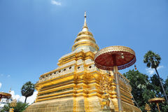 Pagoda in blue sky Royalty Free Stock Image