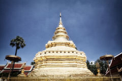 Pagoda in blue sky Royalty Free Stock Photography
