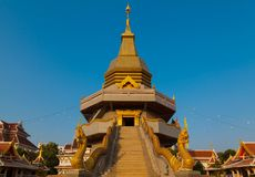 Pagoda and blue sky Stock Images