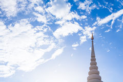 Pagoda blue sky Stock Photos