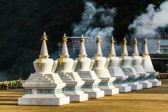 Pagoda branco fotos de stock