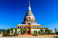 Pagoda branco Imagem de Stock Royalty Free