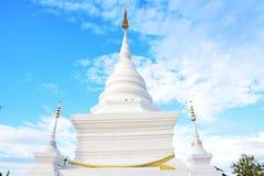 Pagoda branco Fotografia de Stock