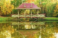 pagoda bridge zdjęcie stock