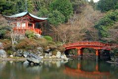 Pagoda bridge Royalty Free Stock Photography