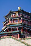 Pagoda of Buddha Fragrance in Summer Palace Royalty Free Stock Photos