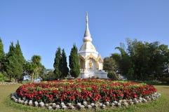 Pagoda of buddha's relic. At thailand Stock Image