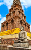 Pagoda Buddha statue Stock Photos