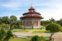 The Pagoda and Buddha Status at Wat Yai Chaimongkol, Ayutthaya,. Thailand royalty free stock images