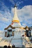 Pagoda buddha Stock Image