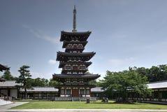 Yakushi-ji pagoda, Nara, Japan. Pagoda in buddhist temple Yakushi-ji in Nara, Japan Stock Photos
