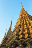 Pagoda buddista della Tailandia Fotografia Stock
