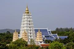 Pagoda buddista in tempio Fotografia Stock Libera da Diritti