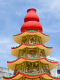 Pagoda budista china imagen de archivo