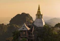 Pagoda budował na szczycie Zdjęcie Royalty Free