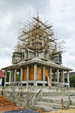 Pagoda is building in the temple Royalty Free Stock Photo