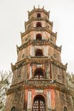 The Pagoda of the Celestial Lady in Hue Vietnam - Chua Thien Mu Stock Image