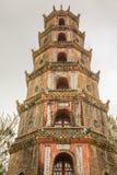 The Pagoda of the Celestial Lady in Hue Vietnam - Chua Thien Mu Royalty Free Stock Image