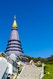 Pagoda in Chaingmai Royalty Free Stock Photos