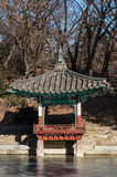 Pagoda in Changdeokgung Palace Royalty Free Stock Images