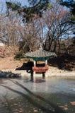 Pagoda in Changdeokgung Palace Stock Photos