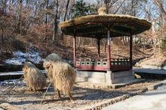 Pagoda in Changdeokgung Palace Stock Images