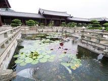 Pagoda chez Nan Lian Garden Images libres de droits