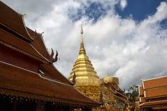 Pagoda  in Chiang mai Royalty Free Stock Photos