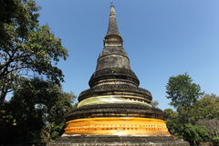 Pagoda in chiang mai Royalty Free Stock Images