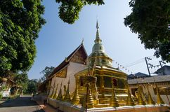 Pagoda in Chieng Rai-Thailand_03 Fotografia Stock Libera da Diritti