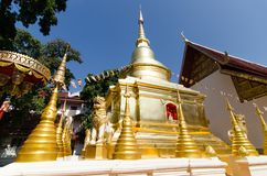 Pagoda in Chieng Rai-Thailand_02 Immagini Stock Libere da Diritti