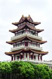 Pagoda of China. A Chinese traditional pagoda or tower stock photography