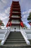 Pagoda china del jardín Fotos de archivo libres de regalías