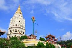 Pagoda china en Georgetown imagenes de archivo