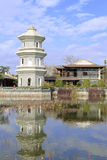 Pagoda in chinese classical garden Stock Images