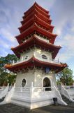 Pagoda, Chinese Garden. This 7-storey pagoda is located at the Chinese Garden in Singapore Royalty Free Stock Photography
