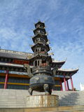 Pagoda chinoise images libres de droits