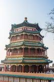 Pagoda chinoise dans le palais d'été, Pékin photo stock