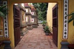 Pagoda Chua Tran Quoc Royalty Free Stock Image