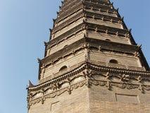 Pagoda cinese Immagine Stock Libera da Diritti