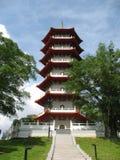 Pagoda cinese Immagini Stock Libere da Diritti