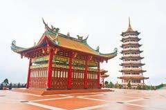 Pagoda cinese di Swee del mento, altopiani di Genting Fotografia Stock Libera da Diritti