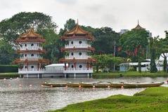 Pagoda cinese in giardino cinese. Fotografia Stock Libera da Diritti