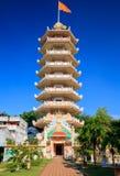 Pagoda cinese in Hatyai, Songkhla, Tailandia Immagine Stock