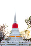Pagoda. In city samutprakarn thailand Royalty Free Stock Photography