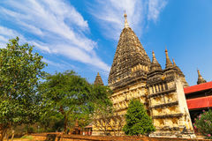 Pagoda and cloouds royalty free stock photos
