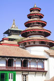 Pagoda colorée de grand dos de Katmandou Durbar, Népal Photo libre de droits