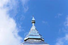 Pagoda con el cielo Imagen de archivo libre de regalías